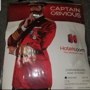 Captain Obvious Costume Hotels.com Halloween Fancy Dress